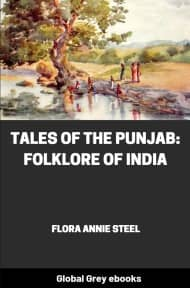 cover page for the Global Grey edition of Tales of the Punjab: Folklore of India by Flora Annie Steel