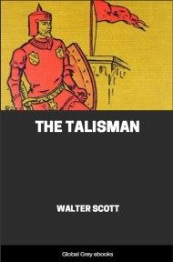 cover page for the Global Grey edition of The Talisman by Walter Scott