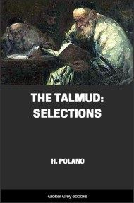 cover page for the Global Grey edition of The Talmud: Selections by H. Polano