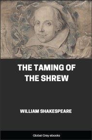 cover page for the Global Grey edition of The Taming of the Shrew by William Shakespeare
