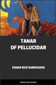 cover page for the Global Grey edition of Tanar of Pellucidar by Edgar Rice Burroughs