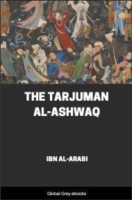 cover page for the Global Grey edition of The Tarjuman al-Ashwaq by Ibn al-Arabi