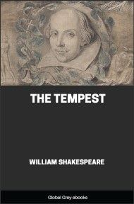 cover page for the Global Grey edition of The Tempest by William Shakespeare