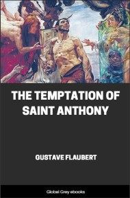 cover page for the Global Grey edition of The Temptation of Saint Anthony by Gustave Flaubert