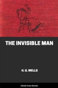 Cover for the Global Grey edition of The Invisible Man by H. G. Wells