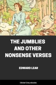 cover page for the Global Grey edition of The Jumblies and Other Nonsense Verses by Edward Lear