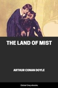cover page for the Global Grey edition of The Land of Mist by Arthur Conan Doyle