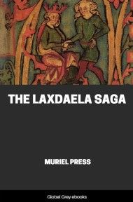 cover page for the Global Grey edition of The Laxdaela Saga by Muriel Press