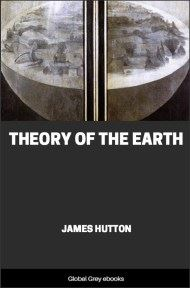 cover page for the Global Grey edition of Theory of the Earth by James Hutton