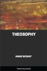 cover page for the Global Grey edition of Theosophy by Annie Besant