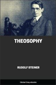 cover page for the Global Grey edition of Theosophy by Rudolf Steiner