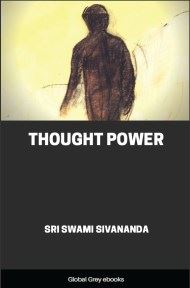 Thought Power By Sri Swami Sivananda