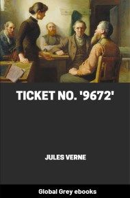 cover page for the Global Grey edition of Ticket No. '9672' by Jules Verne