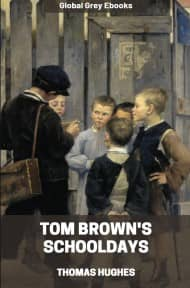 cover page for the Global Grey edition of Tom Brown's Schooldays by Thomas Hughes