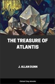 cover page for the Global Grey edition of The Treasure of Atlantis by J. Allan Dunn