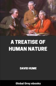 cover page for the Global Grey edition of A Treatise of Human Nature by David Hume