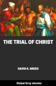 cover page for the Global Grey edition of The Trial of Christ by David K. Breed