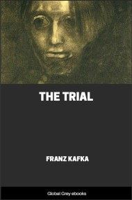 cover page for the Global Grey edition of The Trial by Franz Kafka