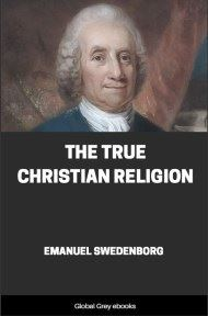 cover page for the Global Grey edition of The True Christian Religion by Emanuel Swedenborg
