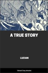 cover page for the Global Grey edition of A True Story by Lucian