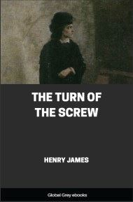 cover page for the Global Grey edition of The Turn of the Screw by Henry James