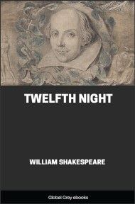 cover page for the Global Grey edition of Twelfth Night by William Shakespeare