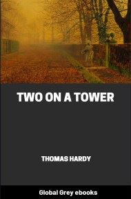 cover page for the Global Grey edition of Two On A Tower by Thomas Hardy