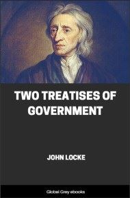 cover page for the Global Grey edition of Two Treatises of Government by John Locke