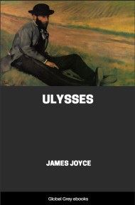 cover page for the Global Grey edition of Ulysses by James Joyce