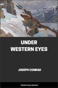cover page for the Global Grey edition of Under Western Eyes by Joseph Conrad