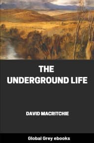 cover page for the Global Grey edition of The Underground Life by David MacRitchie