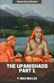 cover page for the Global Grey edition of The Upanishads Part 1 by F. Max Muller