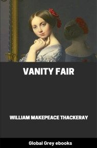 cover page for the Global Grey edition of Vanity Fair By William Makepeace Thackeray