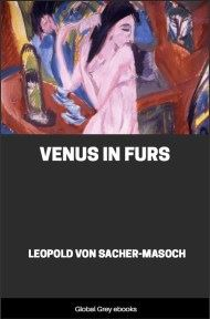 cover page for the Global Grey edition of Venus in Furs by Leopold Von Sacher-Masoch