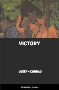 cover page for the Global Grey edition of Victory by Joseph Conrad