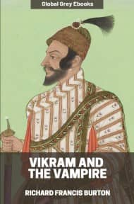 cover page for the Global Grey edition of Vikram and the Vampire by Richard Francis Burton