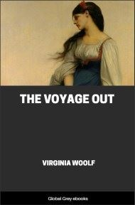 cover page for the Global Grey edition of The Voyage Out by Virginia Woolf