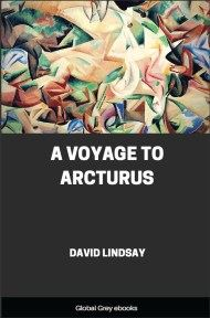 cover page for the Global Grey edition of A Voyage to Arcturus by David Lindsay