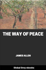 cover page for the Global Grey edition of The Way of Peace by James Allen