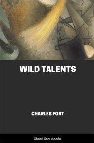 Wild Talents By Charles Fort