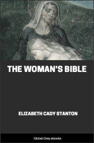 cover page for the Global Grey edition of The Woman's Bible by Elizabeth Cady Stanton