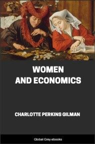 cover page for the Global Grey edition of Women and Economics by Charlotte Perkins Gilman