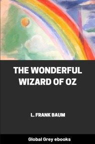 cover page for the Global Grey edition of The Wonderful Wizard of Oz by L. Frank Baum