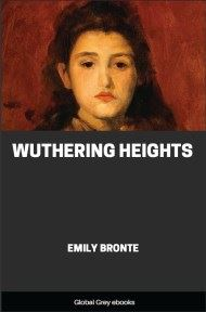 cover page for the Global Grey edition of Wuthering Heights By Emily Bronte