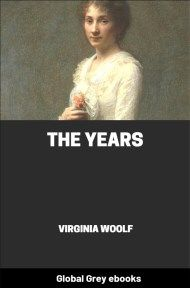 cover page for the Global Grey edition of The Years by Virginia Woolf
