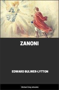 cover page for the Global Grey edition of Zanoni by Edward Bulwer-Lytton