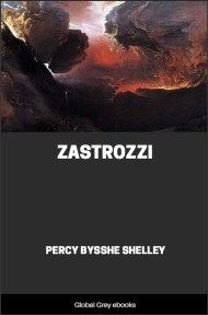 cover page for the Global Grey edition of Zastrozzi by Percy Bysshe Shelley